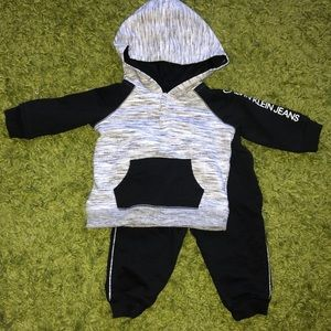 Calvin Klein Hooded Sweatsuit